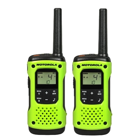 T605 Rechargeable Two-Way Radios (Dual Pack With Accessories)